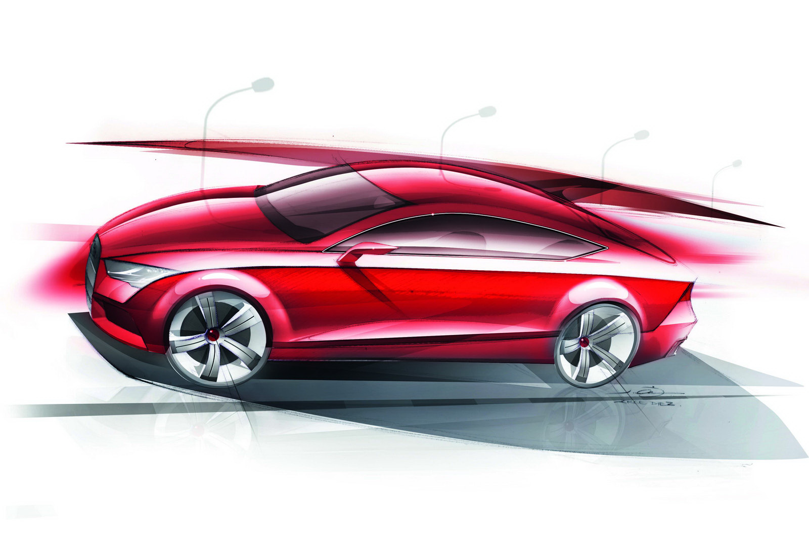 Exterior Drawings 4 6 Audi A7 Sportback 2011 Http